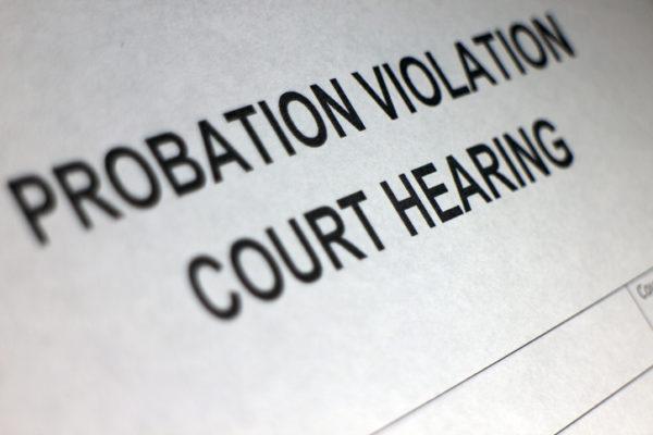 Probation violation form